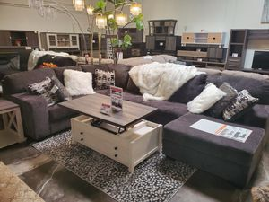 Modern Sectional Sofa, Smoke for Sale in Huntington Beach, CA