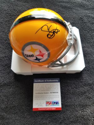 Snoop Dogg Signed NFL Pittsburgh Steelers Mini Helmet w PSA/DNA COA Rap Hip Hop for Sale in Hayward, CA