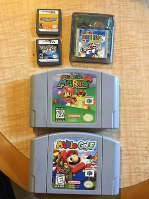 Super Mario N64/Gameboy Games for Sale in Vallejo, CA