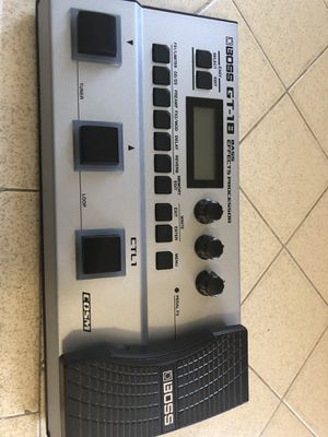 Boss GT -1B bass Pedal for Sale in Los Angeles, CA