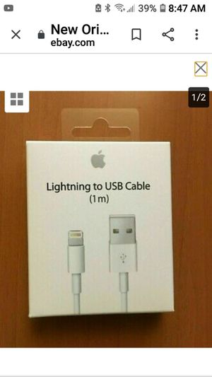 Apple iPhone charger cables for Sale in Rancho Cucamonga, CA