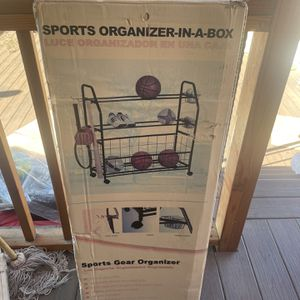 Sports Organizer In A Box for Sale in Los Angeles, CA