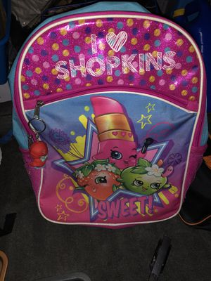 Shopkins back pack - good condition for Sale in Aspen Hill, MD