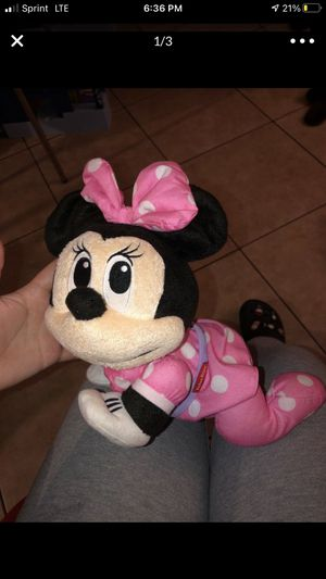 crawling minnie mouse doll for Sale in Torrance, CA
