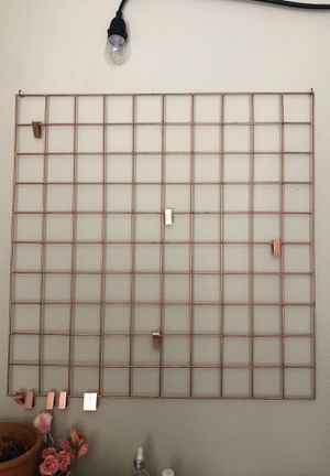 Copper grid hanging Accessory-urban outfitters for Sale in Dana Point, CA