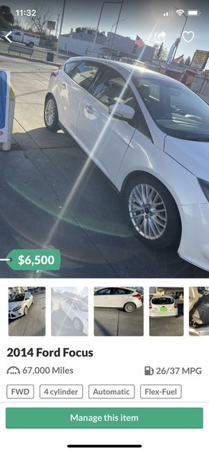 2014 Ford Focus titanium for Sale in Fresno, CA