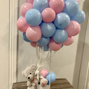 Teddy Hot Air Balloon Arrangement 🐻 for Sale in Commerce, CA