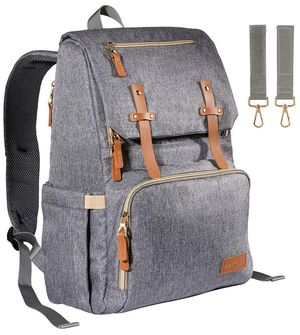 Diaper Backpack - Light Grey for Sale in Carrollton, TX