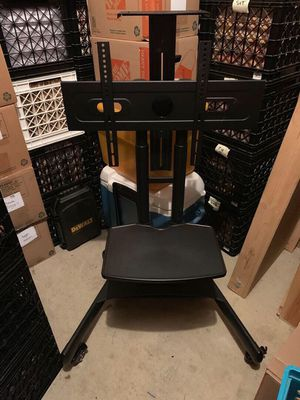 Rolling TV Cart Mobile TV Stand for 40-65 inch Universal Flat Screen for Sale in Fairfax, VA