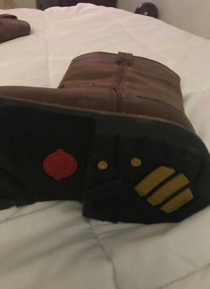 Justin working boots steel toed 9ee for Sale in Dallas, TX