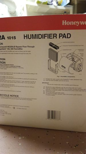 Humidifiers Pad for Sale in Bartlett, IL
