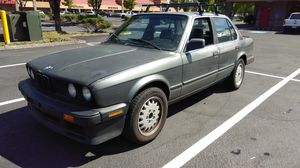 1986 BMW 325 5 speed manual for Sale in Portland, OR