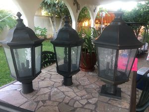 SET OF OUTDOOR LAMP for Sale in Chandler, AZ