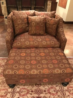 Chair/Ottoman, Custom Chair and a Half for Sale in Denver, CO
