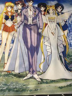 Sailor Moon Crystal 1998 Scroll for Sale in Woodbridge,  VA