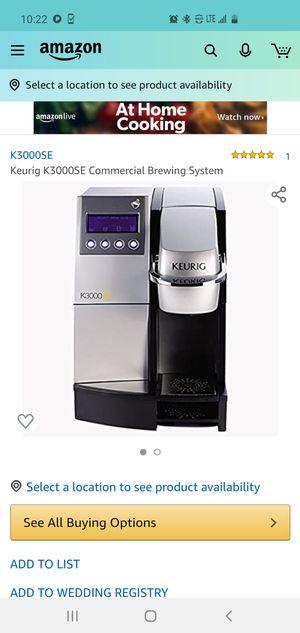 Brand new Keurig k3000se for Sale in Philadelphia, PA