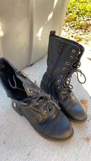 Girls black boots for Sale in Houston, TX