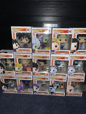 Dragon Ball Funko Pops for Sale in Houston, TX