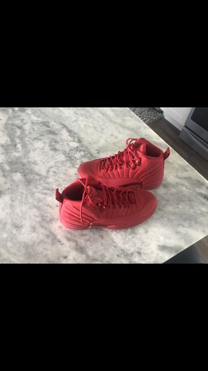 Jordan 12, Gym Red. Sz 9.5 for Sale in Ellsworth, KS