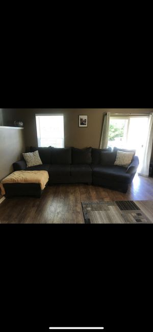 Gray Sectional Couch for Sale in Denver, CO