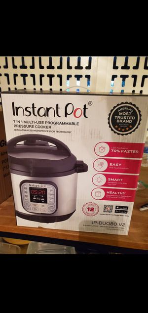 Instant pot 8 quart for Sale in Whittier, CA