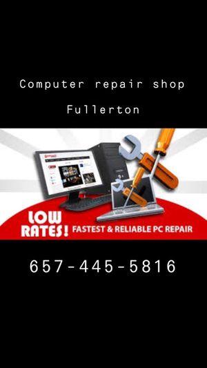 Computer repair fix laptop for Sale in Fullerton, CA