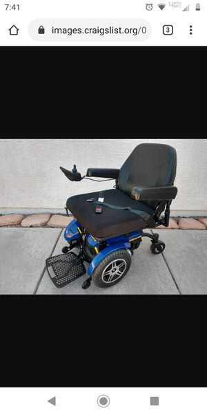 2016 Pride Jazzy Elite HD 450Lb Cap 22Wx21D WheelChair PowerChair for Sale in Gulf Breeze, FL