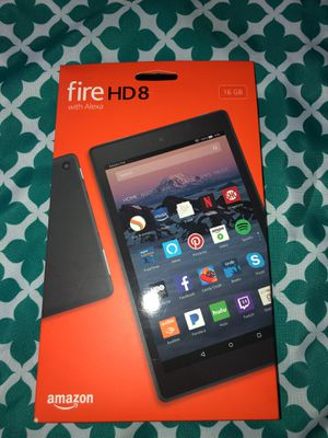 Amazon Fire HD8 with Alexa - 16GB for Sale in Winthrop, MA