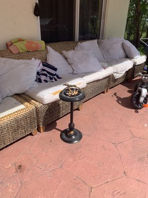 Outdoor furniture couch for sale for Sale in Pompano Beach, FL