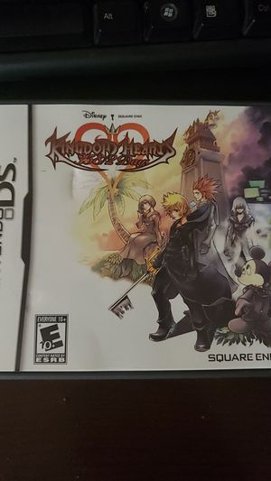 Kingdom hearts 358/2 days ds game for Sale in San Antonio, TX