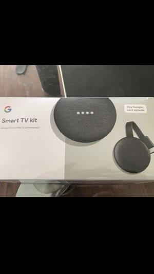 Smart Tv kit google home Mini & Chromecast for Sale in SUNNY ISL BCH, FL