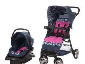 Travel System Cosco Stroller, Car seat for Sale in Annandale, VA