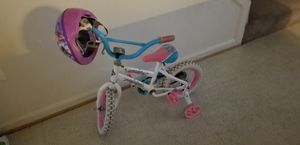 Girls bike and helmet for Sale in Manassas, VA