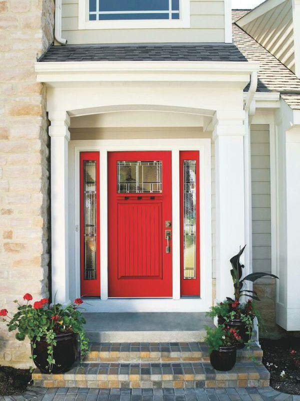 Custom Contemporary Doors Fiberglass and Solid Wood
