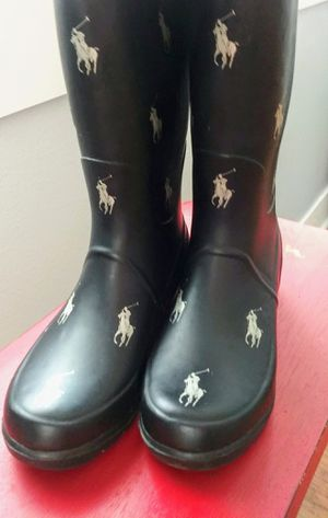 POLO RAIN BOOTS for Sale in Fort Worth, TX