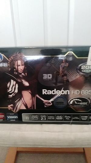 Sapphire Radeon HD 6950 2GB for Sale in Saint Clair Shores, MI