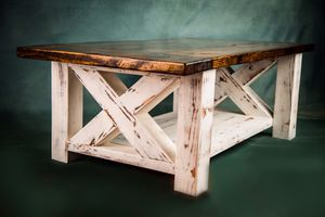 Coffee table - solid wood, handmade for Sale in Davenport, FL