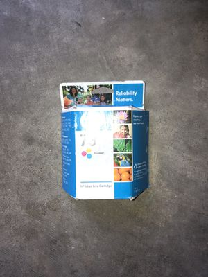 New unopened HP 73 tricolor ink cartridge for Sale in Saint Albans, WV