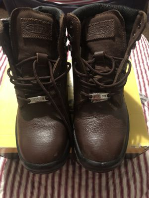 Steel Toe Work Boot 🥾, size 9, Brown for Sale in Pomona, CA