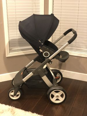 Stokke Crusi stroller and Stokke Nuna car seat for Sale in Antelope, CA