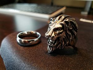 Men's Lion Ring for Sale in Schaumburg, IL