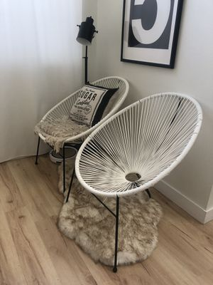 Sun chairs egg mid century seat furniture outdoor indoor modern for Sale in Lakewood, CA