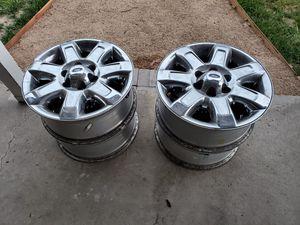 """Ford F150 18"""" rims with tire pressure sensors for Sale in Ventura, CA"""