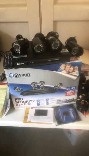 Swan security cameras ...2x1 Deal for Sale in Acworth, GA