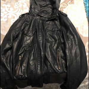 Black Leather Jacket For Sale for Sale in Marietta, GA