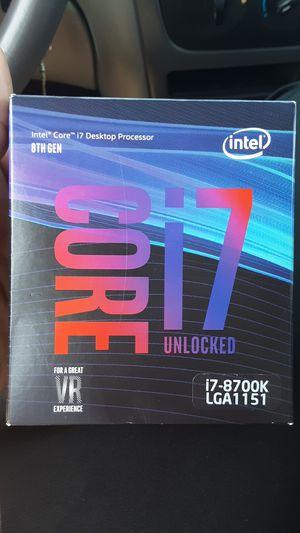 Intel core i7 8700 for Sale in New Castle, DE