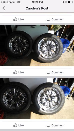 "18"" chrome 6 lug gm for Sale in Columbus, OH"
