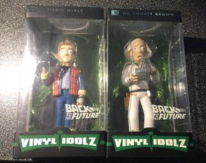 Back to The Future Vinyl Idolz faction figures Vinyl Sugar for Sale in Queens, NY