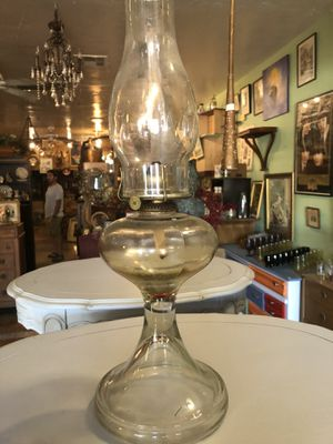 Vintage antique oil lamp for Sale in San Diego, CA