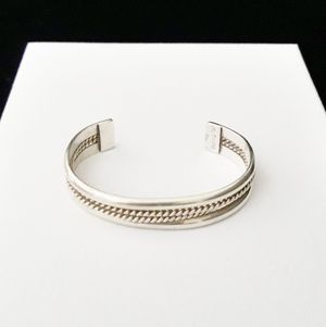 """4"""" Childs Cuff Bracelet, Handcrafted Solid Sterling Silver, signed for Sale in Columbia, SC"""